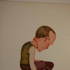 Varios objetos de Arte: JENS JANSE. LÁMINA REPRODUCCIÓN DE 40X60 PEGADA A PASPARTÚ Y TÁBLEX DE 70 X 80.. Lote 124268239