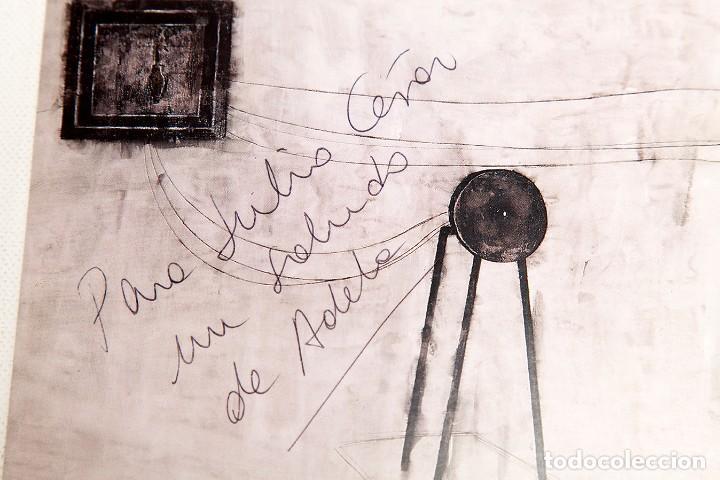 Varios objetos de Arte: ADELA RODRIGUEZ DUFLOS - FOLLETO DE EXPOSICION FIRMADO - Foto 2 - 124665559