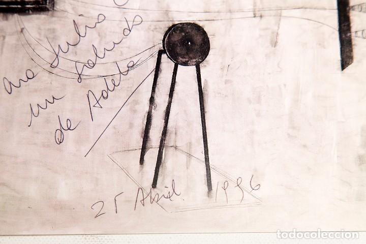 Varios objetos de Arte: ADELA RODRIGUEZ DUFLOS - FOLLETO DE EXPOSICION FIRMADO - Foto 3 - 124665559