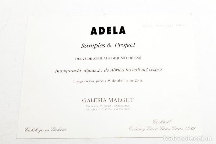 Varios objetos de Arte: ADELA RODRIGUEZ DUFLOS - FOLLETO DE EXPOSICION FIRMADO - Foto 4 - 124665559