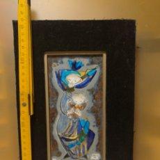 Varios objetos de Arte: REBAJADO!!!. PINTURA ESMALTE, ORIGINAL FIRMADO.. Lote 125896674