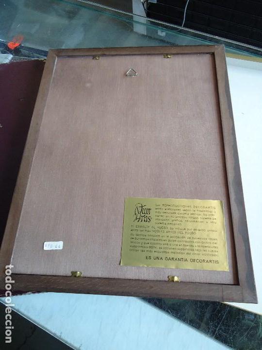 Varios objetos de Arte: Esmalte religioso al fuego pablo picasso - maternidad - - Foto 5 - 126294851
