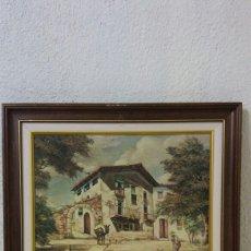 Varios objetos de Arte: LÁMINA QUIMET SABATE. Lote 126980206