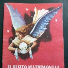 Varios objetos de Arte: CONGRESO EUCARÍSTICO DE BARCELONA 1952. PROGRAMA DEL AUTO SACRAMENTAL EL PLEITO MATRIMONIAL....... Lote 127546799