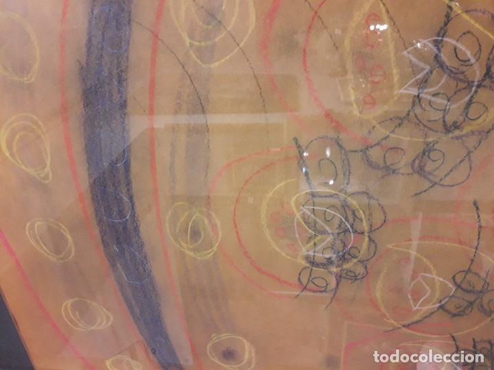 Varios objetos de Arte: Abstracto sobre papel y ceras - Foto 4 - 127749003