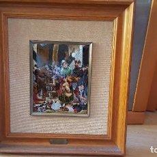 Varios objetos de Arte: REPRODUCCIÓN AL ESMALTE AL FUEGO. Lote 127951451