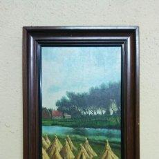 Varios objetos de Arte: CUADRO DE PAISAJE. Lote 128343263