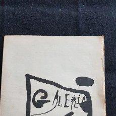 Varios objetos de Arte: GALERIA 4 GATS ARCO-85. DIE INTERNATIONALE KUNSTMESSE BASILEA.. Lote 128671659