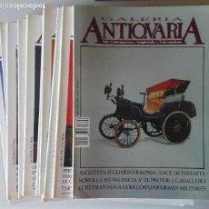 Varios objetos de Arte: LOTE REVISTAS ANTIQVARIA, 11 NÚMEROS, DEL AÑO 1990. Lote 128766695