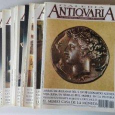 Varios objetos de Arte: LOTE REVISTAS ANTIQVARIA, 11 NÚMEROS, DEL AÑO 1992. Lote 128767879
