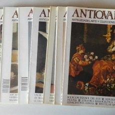 Varios objetos de Arte: LOTE REVISTAS ANTIQVARIA, 7 NÚMEROS, VARIADOS. Lote 128769855