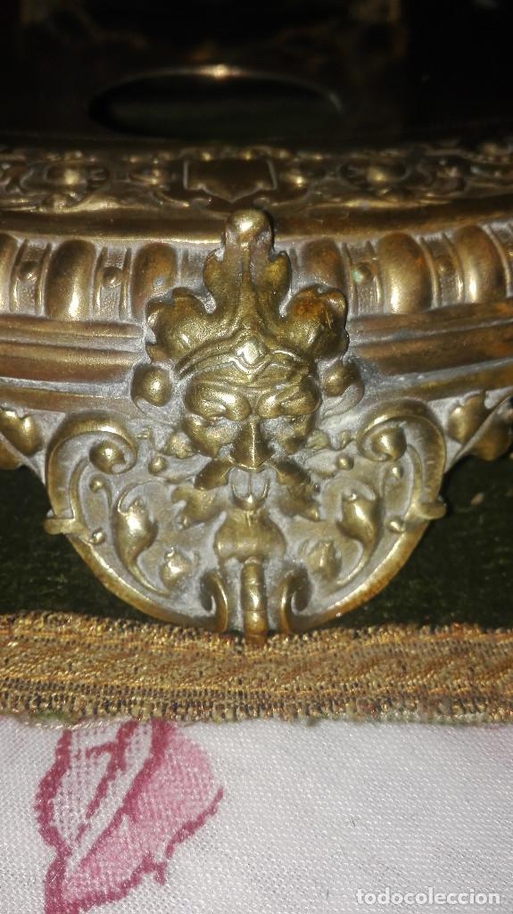 Varios objetos de Arte: escribania de bronce siglo XIX. - Foto 3 - 129236091