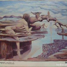 Varios objetos de Arte: JUAN CARLÓ. RETRATO DE DÑA. CONCEPCIÓN MILLARES. CANARIAS 7.. Lote 130055275