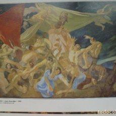 Varios objetos de Arte: ROMERÍA DE SANTA LUCÍA. JESÚS ARENCIBIA. 1951. CANARIAS 7.. Lote 130055319