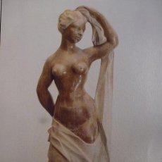 Varios objetos de Arte: LÁMINA. ABRAHAM CÁRDENES. DESNUDO. 1948. CANARIAS 7.. Lote 130055343