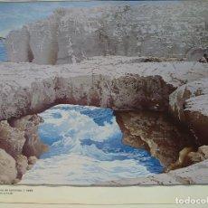 Varios objetos de Arte: ELÍAS MARRERO. HERVIDEROS DE LANZAROTE. 1992. CANARIAS 7.. Lote 130055383