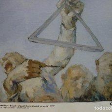 Varios objetos de Arte: JESÚS ARENCIBIA. DEVUELVO AL PUEBLO LO QUE EL PUEBLO ME PRESTÓ. CANARIAS 7.. Lote 130055499