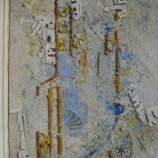Varios objetos de Arte: JUAN BETANCOR. PEQUEÑA AVENIDA. 1993. CANARIAS 7.. Lote 130055543