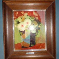 Varios objetos de Arte: ESMALTE AL FUEGO. REPRODUCCION JOSE LUIS MARLEZ AÑOS 70. Lote 130243270
