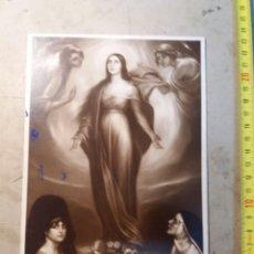 Varios objetos de Arte: JULIO ROMERO DE TORRES , VIRGEN DE LOS FAROLES.. Lote 130568116