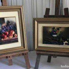Varios objetos de Arte: PAREJA DE CUADROS DE RESINA ESCENAS EN RELIEVE . Lote 130601362