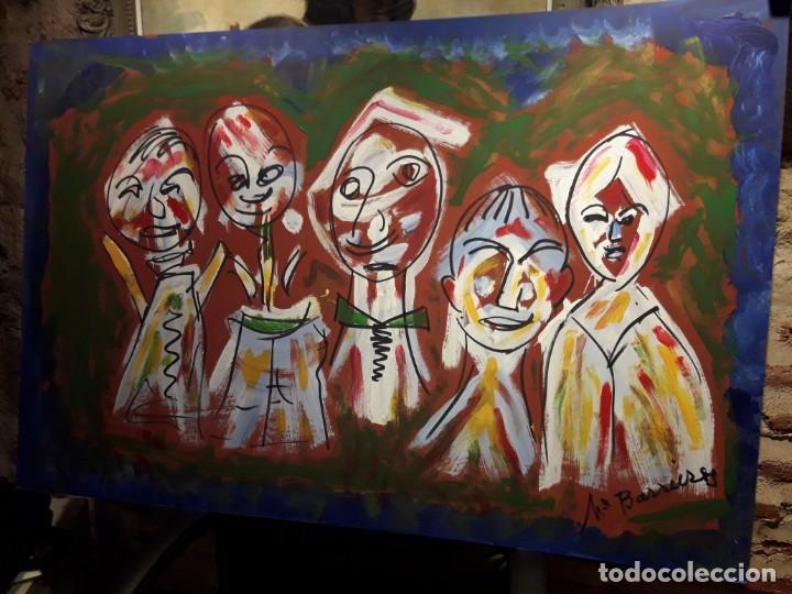PERSONAJES (Arte - Varios Objetos de Arte)