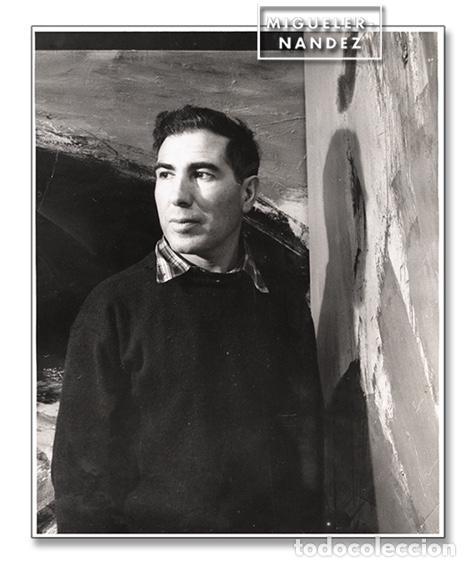 RETRATO DEL ARTISTA JOSÉ GUERRERO (GRANADA, 1914 - BARCELONA, 1991) – COPIA VINTAGE (1979) (Arte - Varios Objetos de Arte)
