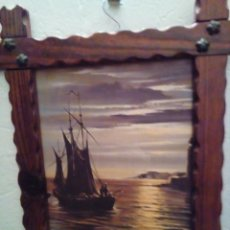 Varios objetos de Arte: CUADRO ANTIGUO. Lote 131192500
