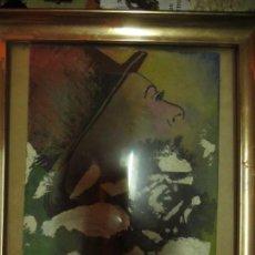 Varios objetos de Arte: PINTURA OLEO SOBRE LIENZO PEGADA A CARTON. Lote 132535386