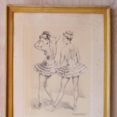 Varios objetos de Arte: BAILARINAS, LÓPEZ ALONSO. Lote 132743678