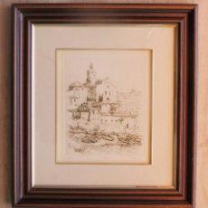 Varios objetos de Arte: CADAQUÉS 25/50 - THOMAS?. Lote 132744462