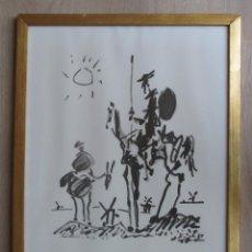 Varios objetos de Arte: DON QUIJOTE Y SANCHO PANZA. Lote 132749430