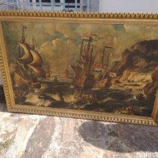 Varios objetos de Arte: CUADRO NAVIOS .. Lote 133057186