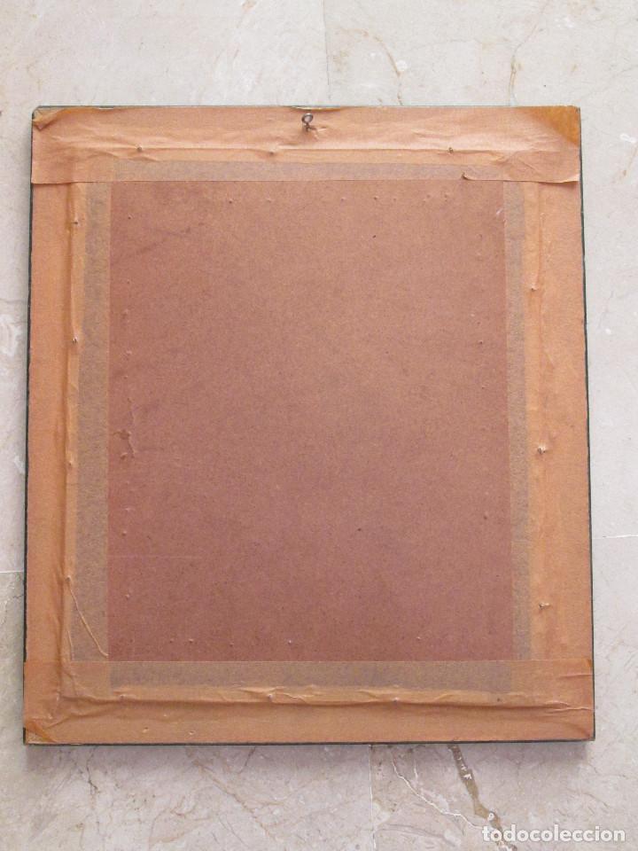 Varios objetos de Arte: CUADRO DE PUNTO DE CRUZ - ENMARCADO - BANDERAS DE SEÑALES MARITIMAS - 40X35 - Foto 4 - 133446998
