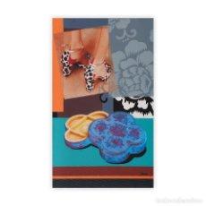 Varios objetos de Arte: MARIA LUISA SANZ GARCIA MURO-LA CAJA DE LA EMPERATRIZ-MEDIDAS 55 X 33- LISTO PARA DECORAR TU PARED. Lote 133568422