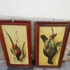 Varios objetos de Arte: PAREJA DE CUADROS. Lote 133817421