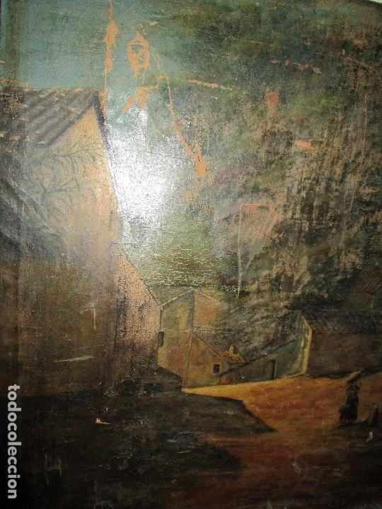 Varios objetos de Arte: ENORME PINTURA ANTIGUA OLEO LIENZO SIGLO XIX XVIII 150 X 120 - Foto 14 - 82969376
