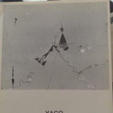 Varios objetos de Arte: YAGO ROBERT TRPTICO EXPOSICION EN LA SALA GASPAR DE BARCELONA EN 1976. Lote 134919422