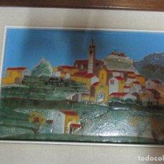 Varios objetos de Arte: LOTE RESERVADO AZULEJO FIRMA GERARD FAMOSO PINTOR DE ALICANTE. Lote 135283618