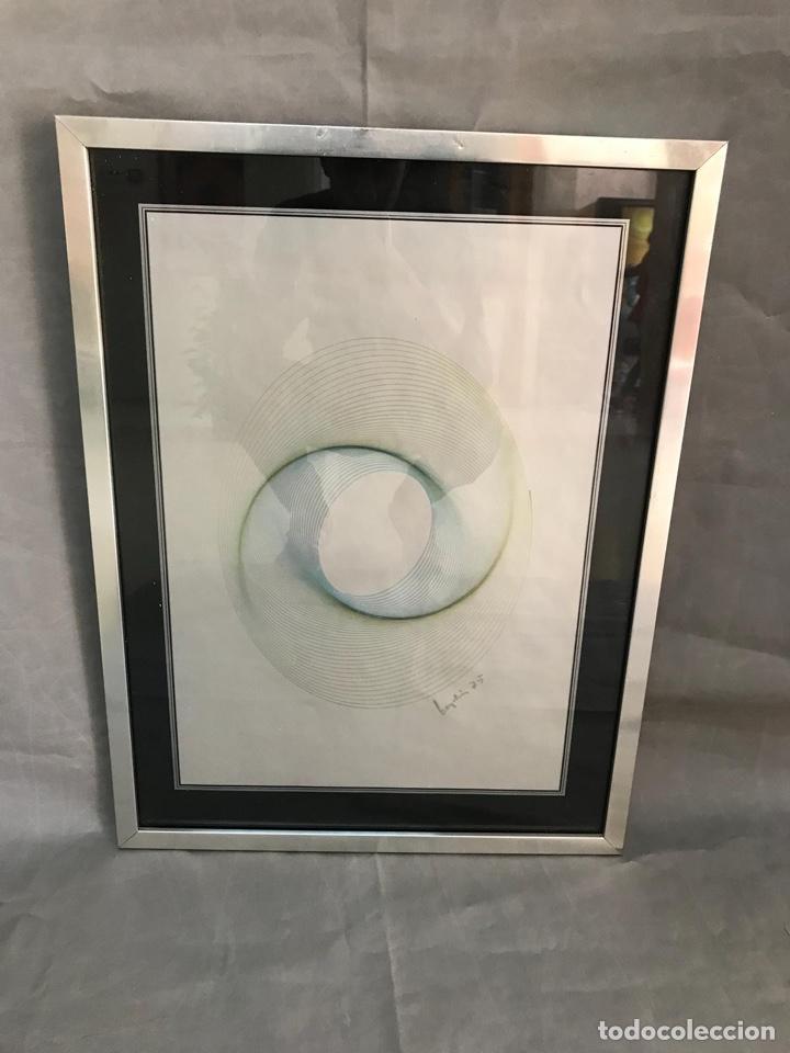 Varios objetos de Arte: OBRA GRÁFICA FIRMADA VINTAGE AÑO 75 - Foto 2 - 135345903