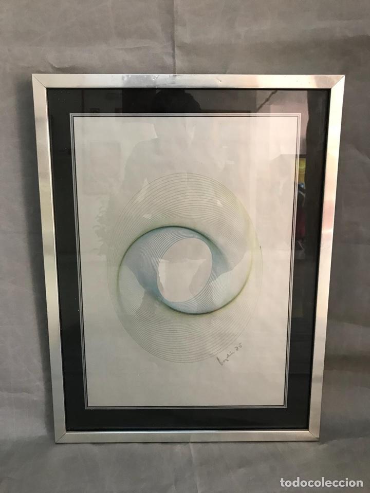 Varios objetos de Arte: OBRA GRÁFICA FIRMADA VINTAGE AÑO 75 - Foto 3 - 135345903