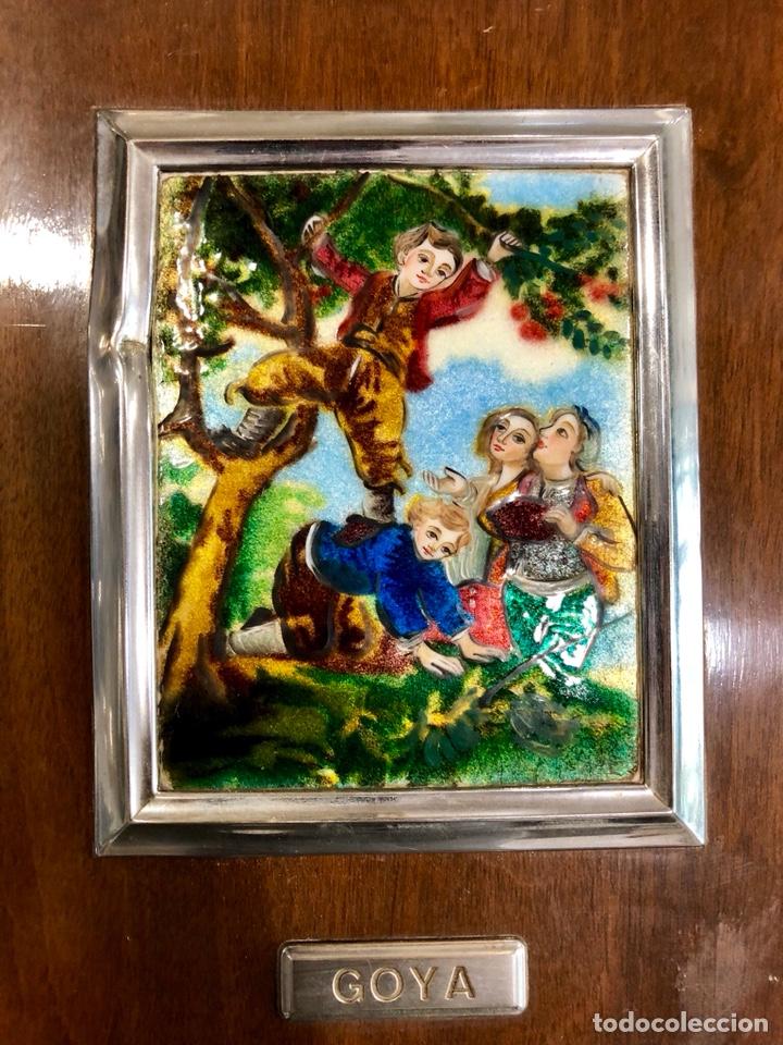 Varios objetos de Arte: PAREJA DE CUADROS DE GOYA ESMALTADOS AL FUEGO - Foto 3 - 135479870