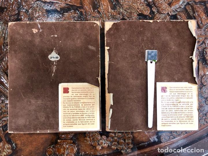 Varios objetos de Arte: PAREJA DE CUADROS DE GOYA ESMALTADOS AL FUEGO - Foto 4 - 135479870