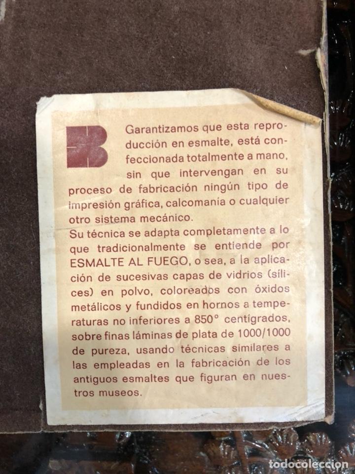 Varios objetos de Arte: PAREJA DE CUADROS DE GOYA ESMALTADOS AL FUEGO - Foto 5 - 135479870