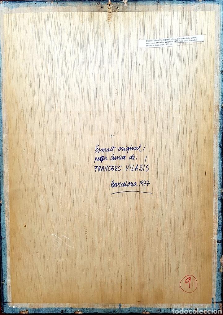 Varios objetos de Arte: FRANCESC VILASÍS-CAPALLEJA - Foto 3 - 135880347