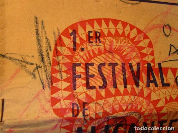 Varios objetos de Arte: pintura alicantina JOSE ANTONIO CIA CINTA AUDIO 1967 CON FOLLETO DIBUJOS EN FESTIVAL DE ALICANTE - Foto 9 - 27501174