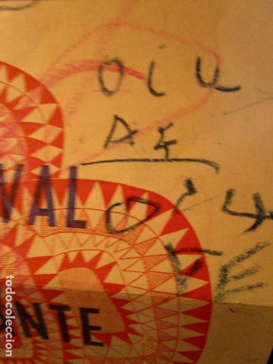 Varios objetos de Arte: pintura alicantina JOSE ANTONIO CIA CINTA AUDIO 1967 CON FOLLETO DIBUJOS EN FESTIVAL DE ALICANTE - Foto 10 - 27501174