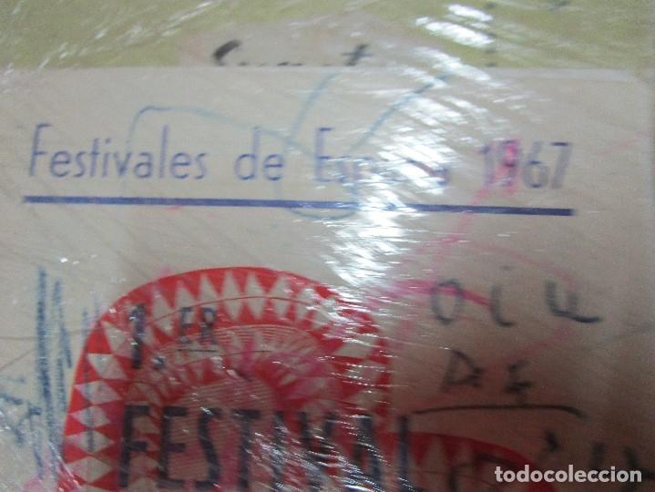 Varios objetos de Arte: pintura alicantina JOSE ANTONIO CIA CINTA AUDIO 1967 CON FOLLETO DIBUJOS EN FESTIVAL DE ALICANTE - Foto 11 - 27501174
