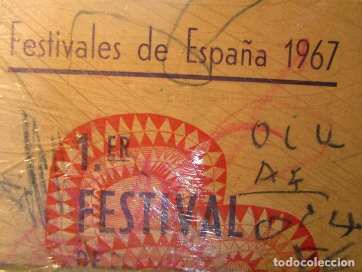 Varios objetos de Arte: pintura alicantina JOSE ANTONIO CIA CINTA AUDIO 1967 CON FOLLETO DIBUJOS EN FESTIVAL DE ALICANTE - Foto 12 - 27501174