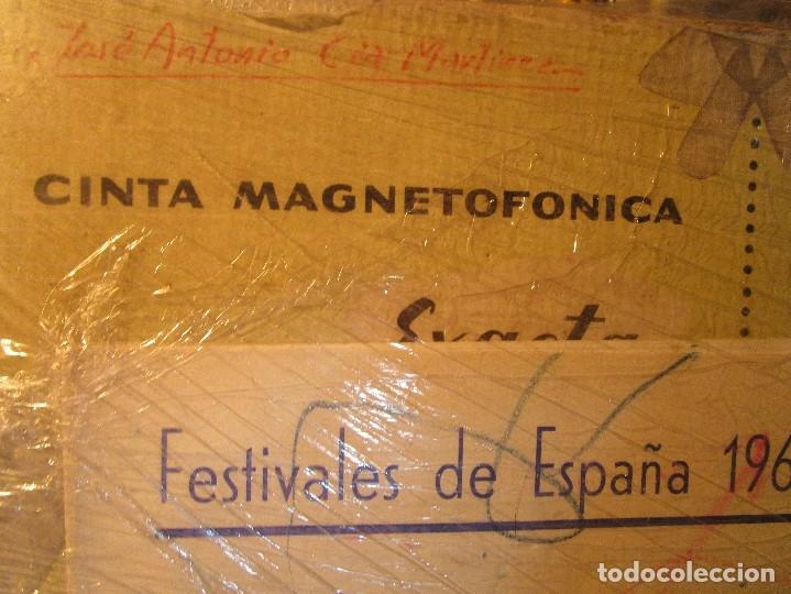 Varios objetos de Arte: pintura alicantina JOSE ANTONIO CIA CINTA AUDIO 1967 CON FOLLETO DIBUJOS EN FESTIVAL DE ALICANTE - Foto 13 - 27501174